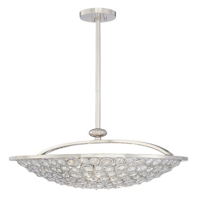 Metropolitan by Minka Magique 5 Light Bowl Inverted Pendant