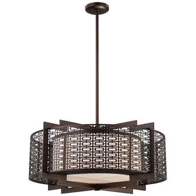 Metropolitan by Minka Atelier 4 Light Pendant