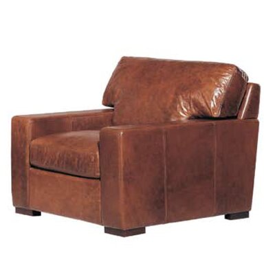 Hokku Designs Brussels Classic Leather Armchair