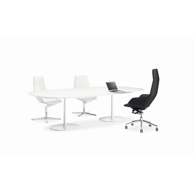 Arper Aston High-Back Leather Executive Task Chair