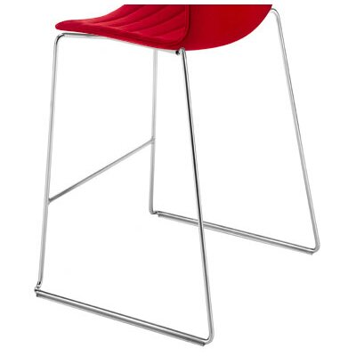 Arper Catifa 46 Counter Stool with 1-Tone Seat