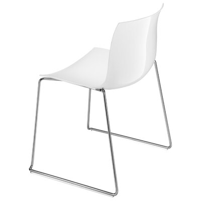 Catifa 53 Polypropylene Chair with Sled Base