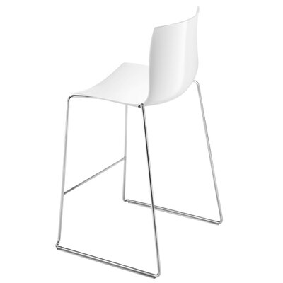 Catifa 46 Single Tone Sled Chair