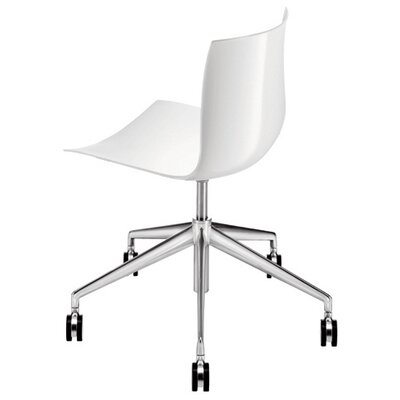 Arper Catifa 53 Polypropylene 5-Way Task Chair with Gas Lift on Castors
