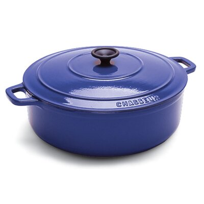 Paderno World Cuisine Cast Iron 2-Qt. Round Dutch Oven