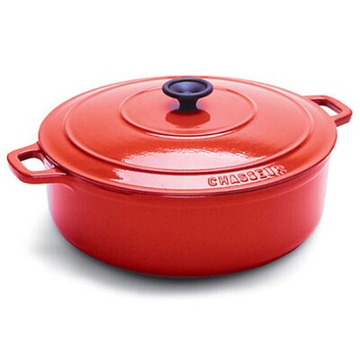Paderno World Cuisine Cast Iron 2 1/2-Qt. Round Dutch Oven