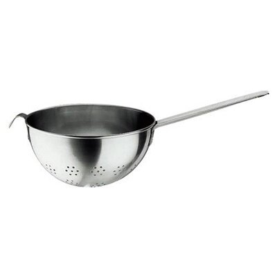 Paderno World Cuisine Colander with Long Handle in Stainless Steel