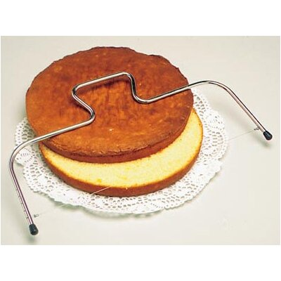 Adjustable Cake Wire Slicer in Stainless Steel