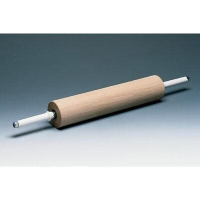 Paderno World Cuisine Wooden Rolling Pin Handles with Gear