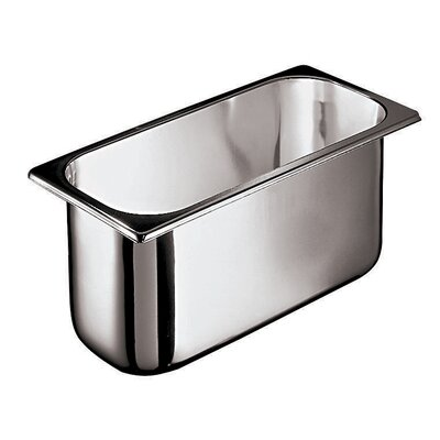 Paderno World Cuisine Ice Cream Container in Silver in Silver