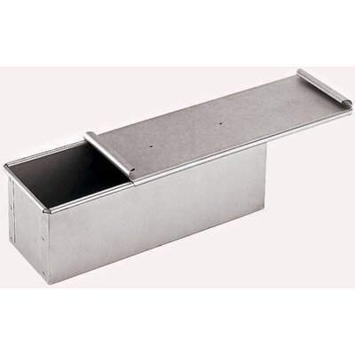 Aluminized Steel Bread Pan with Cover