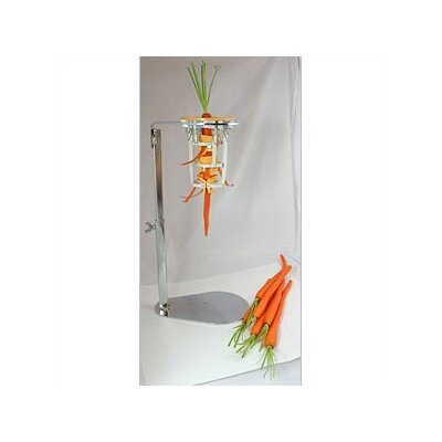 Chrome Steel Upright Carrot Peeler