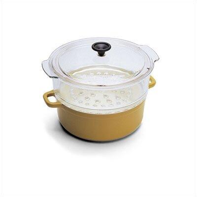 Paderno World Cuisine Cast Iron 9 3/8'' Steamer