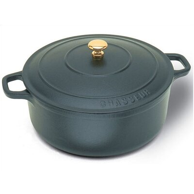Paderno World Cuisine Cast Iron Round Dutch Oven