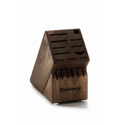 Wusthof 17-Slot Block in Walnut