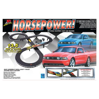 Life-Like Horse Power Car Set