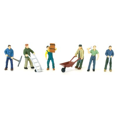 Life-Like Railroad Workers (Figures)
