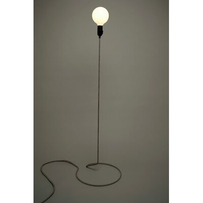 Design House Stockholm Cord Lamp in Black / White by Form Us With Love