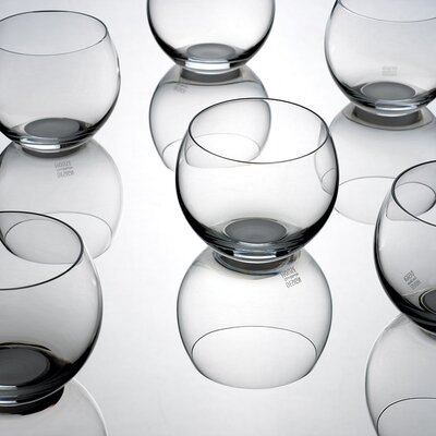 Design House Stockholm Globe Glasses in Clear by Ulla Christiansson