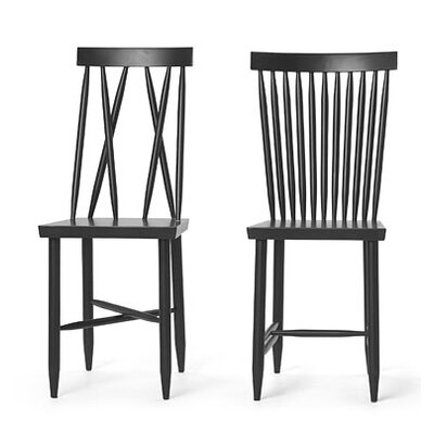 Design House Stockholm Family Chair 1+2 by Lina Nordqvist (Set of 2)