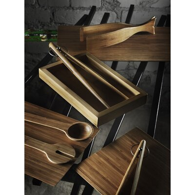 Design House Stockholm Bamboo Whale Tongs