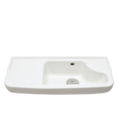 Bissonnet Universal Oxigen Wall Hung Ceramic Bathroom Sink