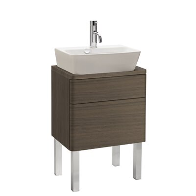 "Bissonnet Universal Emma 20"" Standing Bathroom Vanity Set"