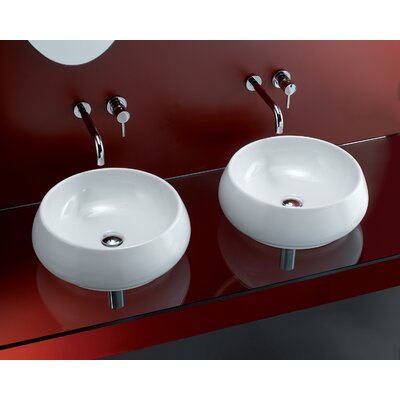 Bissonnet Area Boutique Tulip Bathroom Sink