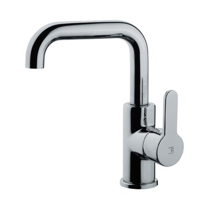 Bissonnet Cromo Pysa Single Hole Bathroom Faucet with Single Handle