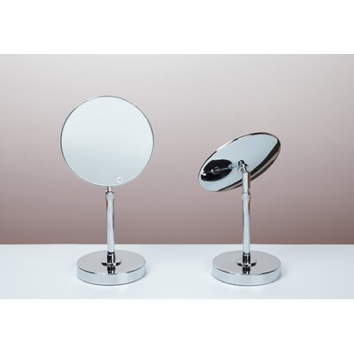 Bissonnet Kosmetic Fontana Mirror in Polished Chrome