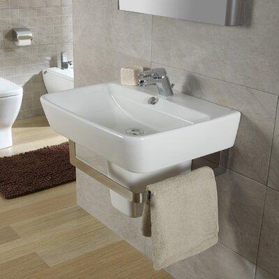 Bissonnet Emma Semi Pedestal Wall Hung Bathroom Sink Reviews Wayfair