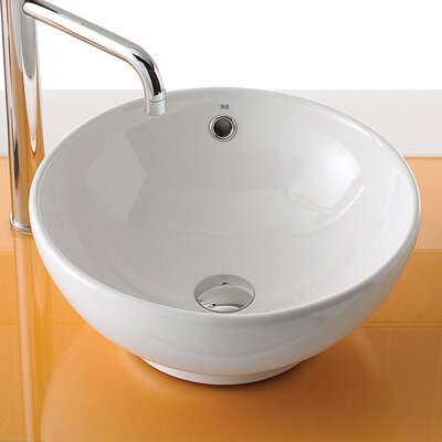 Bissonnet Universal Ceramic Bowl Bathroom Sink