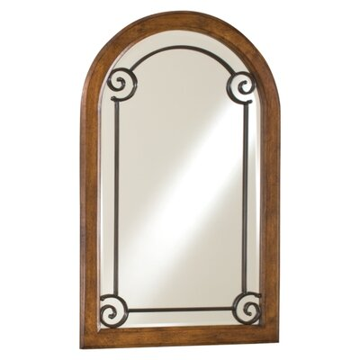 Minka Ambience Wall Mirror in Walnut Burl