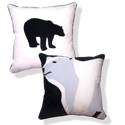 Naked Decor Animal Instinct ReversibleTotally Polar Bear Pillow