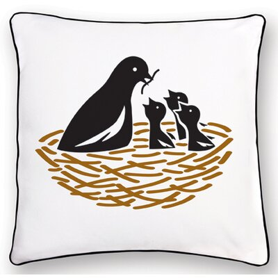 Naked Decor Animal Instinct Bird Reversible Pillow
