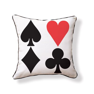 Naked Decor Red Heart Pillow