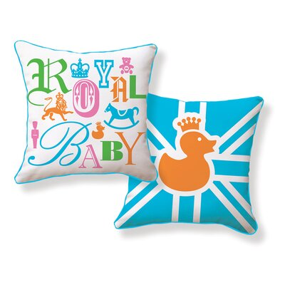Naked Decor Royal Baby Double Sided Cotton Pillow