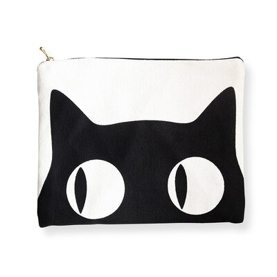 Naked Decor Big Eyes Cat  Amenity Bag