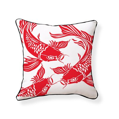 Naked Decor Koi Pillow