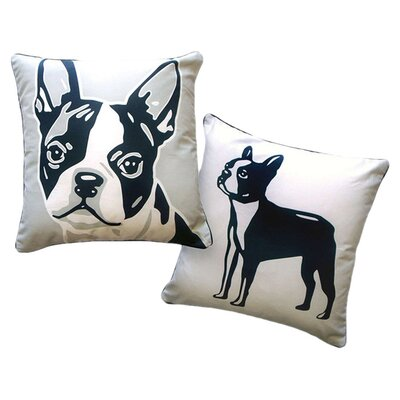 Naked Decor Pooch Décor Boston Terrier Portrait