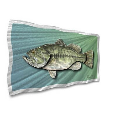 Largemouth Bass Contemporary Wall Art - 14