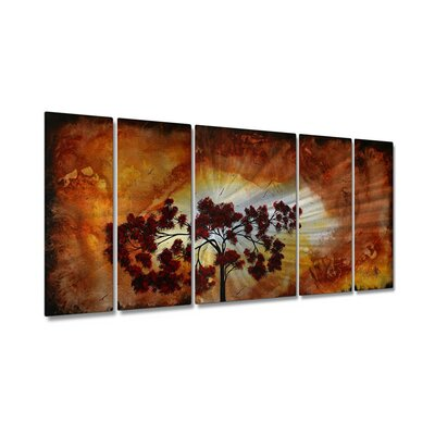Sun Tree by Megan Duncanson, Abstract Wall Art - 23.5