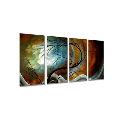 Midnight Wind by Megan Duncanson, Abstract Wall Art - 23.5