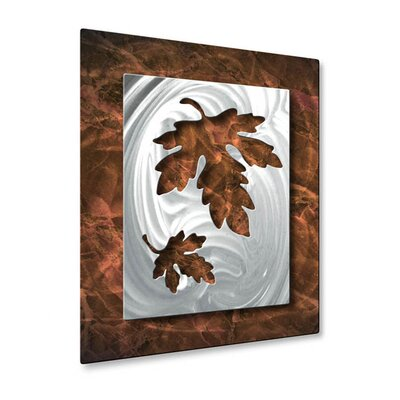All My Walls Oaky Leaflets Wall Sculpture