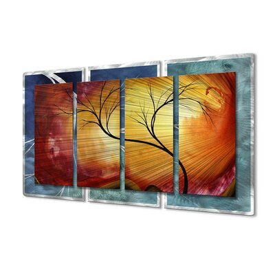 All My Walls Celestial Warmth II Metal Wall Sculpture