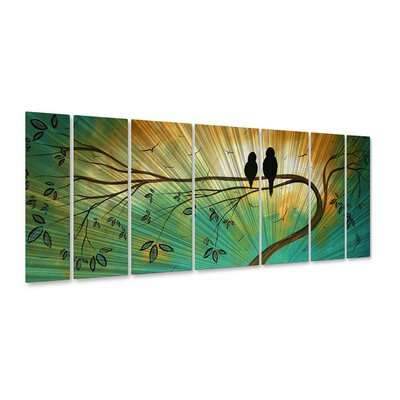 Blossoming in the Sun Metal Wall Decor