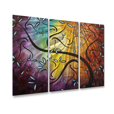 Sweet Blossoms Metal Wall Art