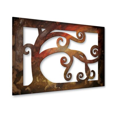 Looping Limbs Metal Wall Hanging