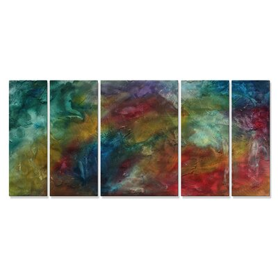 Rainbow Dreams Metal Wall Hanging