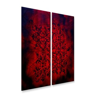 All My Walls Richness Of Color Metal Wall Hanging